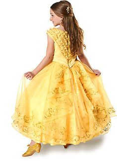 2018 Disney Belle Limited Edition Costume for Kids - Beauty and the Beast - Live Action and more Disney Costumes for Girls, Girl's Halloween Costumes for Unicorn Halloween Costume, Classic Halloween Costumes, Disney Halloween Costumes, Halloween Fancy Dress, Belle Halloween, Belle Costume Girls, Kids Costumes Girls, Girl Costumes, Princess Costumes