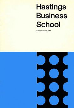 Hastings Business School - Book cover design