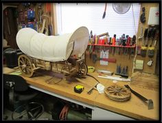 Covered wagon project | Flickr - Photo Sharing!
