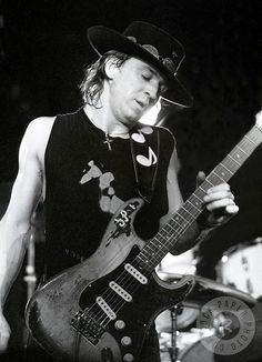 The man himself - Stevie Ray Vaughan