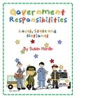 Local Government idea... Your kiddos will love this unit with its fun approach to learning about government services at the local, state and national levels. This unit incl...