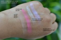 NARS Christopher Kane Makeup Collection Summer 2015 Swatches Blush Silent Nude Starscape