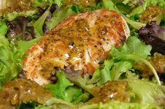 Cocinar para los amigos: Ensalada de pollo con salsa de mostaza
