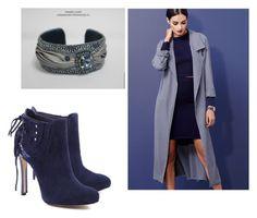 """Bracelet with shicori Deep Blue"" by natalialuzik on Polyvore featuring мода, Lulu*s и Schutz"
