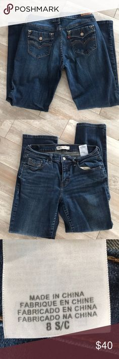 Levi's jeans Like new worn once Excellent condition levis Jeans Straight Leg