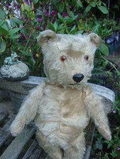 """Ana Marie Hand Made Fully Jointed Mohair Bear """"john"""" Be Novel In Design Bears"""