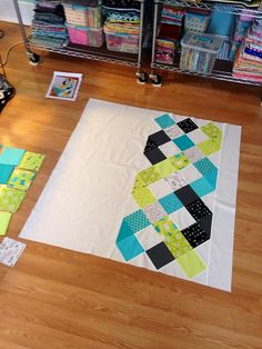 Ryan Walsh Quilts, Modern Quilts, Sewing, Home Decor, Fabric: A Finished Top and The Newest Trend In Pressing Your Quilt Tops