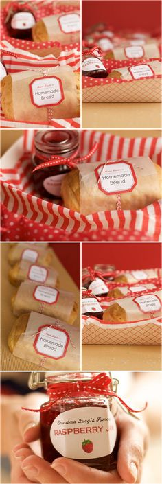 DIY Favors: Homemade Bread and Jam - Project Wedding