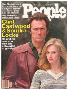 Clint Eastwood------------People Cover, feb 13, 1978