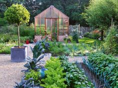 Un jardin parfaitement dessiné