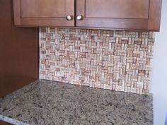 Planning on doing this for my kitchen. I want to try to find a way to make it removable.