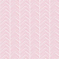 chevron ♥ pretty pink and white fabric by misstiina on Spoonflower - custom fabric