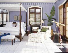 Que quarto não fica lindo e aconchegante com uma cama com dossel??? Nós amamos, ele dá um toque super especial, e ao contrário do que muitas pessoas imaginam, o dossel não é só utilizado em casa de campo ou de praia, ele pode ser utilizado em casas urbanas com um ar super contemporâneo e chic!!!Aqui …