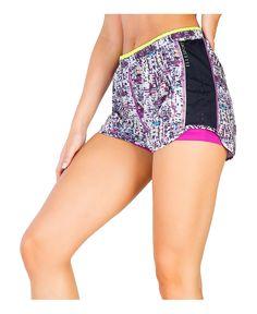 Elle sport - pantaloncini tecnici da donna  - composizione: 92% poliestere 8%…