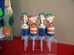 So many great Phineas and Ferb decor ideas!! (Awesome! Come back to!)