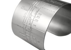 nyc metro cuff - made me think of you @Carly Rask