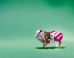 Whiskas: Oh So Origami, Lamb   Ads of the World™