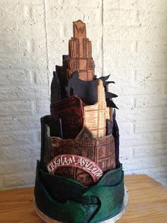 Gotham City Wedding cake