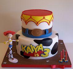 Toy Story cake - Jesse