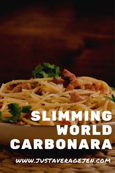 The best Slimming World Carbonara syn free recipe Slimming World Pasta Dishes, Chicken And Bacon Carbonara, Nutrients In Vegetables, Italian Diet, Pasta Recipes, Chicken Recipes, Speed Foods, Pasta Shapes