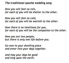 A Lovely Non Religious Blessing Which Goes Perfectly Near To The End Of Ceremony Wedding ReadingsWedding