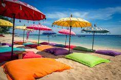 On the Beach at beautiful Gili Island, a small archipelago wedged in-between Bali and Lombok, Indonesia. Wanderlust, Bali Baby, Bali Lombok, Gili Air, Beach Please, Bali Travel Guide, Bali Holidays, Unusual Hotels, Gili Island
