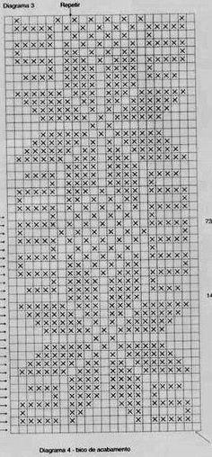 How to Crochet Wave Fan Edging Border Stitch - Crochet Ideas Filet Crochet Charts, Crochet Doily Patterns, Crochet Designs, Crochet Doilies, Crochet Borders, Chicken Scratch Patterns, Chicken Scratch Embroidery, Swedish Weaving Patterns, Fillet Crochet