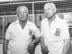 Rato e Neco, dois idolos dos bons tempos do Corinthians em inicio