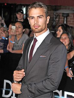 Oh Theo James. You are beautiful.