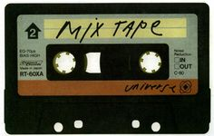 Musical and romantic evolution. From vinyl to tape and the birth of the 'mix tape'.