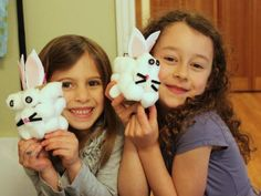 Cool project from http://www.kiwicrate.com/projects/Cotton-Bunny/1768: Cotton Bunny
