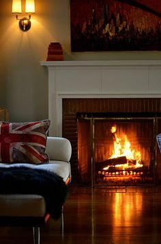 Because a home doesn't worth anything unless there is a fireplace
