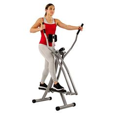 Sunny Health & Fitness Air Walk Trainer Elliptical Machine Glider w/LCD Monitor, 220 LB Max Weight and 30 Inch Stride Best Workout Machine, Workout Machines, Exercise Machine, Elliptical Machines, Elliptical Cross Trainer, Cardio Equipment, Training Equipment, Aerobics Workout, Low Impact Workout