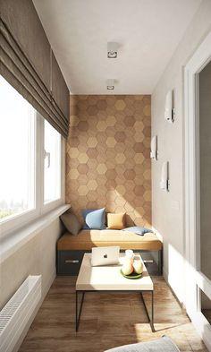 42 Small Balcony Lounge Ideas for the Perfect Relax Haven Small Balcony Design, Interior Balcony, Room Design, Interior Design, House Interior, Home, Interior Design Living Room, Interior, Home Deco