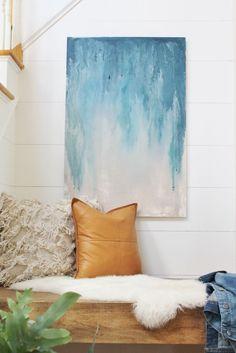 DIY Floating Bench-Creating a Cozy Nook