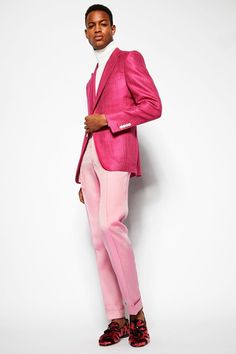 Tom Ford SS 2014 #70s #LCM