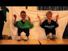 2012-2013 - Groep 8 - Bonte avond op Ameland - YouTube
