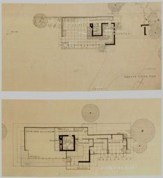 visionsofwright – Page 19 – visions of wright Frank Lloyd Wright, Architecture Plan, Floor Plans, How To Plan, Posts, Design Concepts, Cabins, Fire, Messages