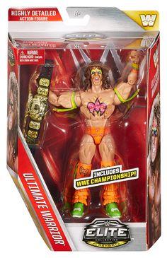 Ultimate Warrior - WWE Elite Legends 1 Toy Wrestling Action Figure