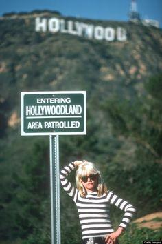 Debbie Harry near the Hollywood sign, ca.1977