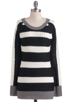 Parallel Lives Sweater, #ModCloth
