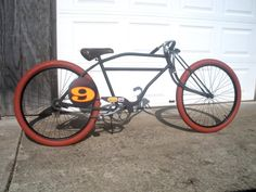 Rat rod bikes!?! OK looks cool but maybe that front geometry is a bit off for riding.