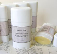 Natural Deodorant Stick Moisturizing Odor by sweetsnthings on Etsy, $10.00