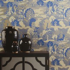 Osborne & Little - Album 5 Collection - Summer Palace Wallpaper - W573403