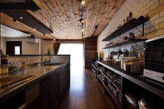 専門家:美想空間|カフェハウスが手掛けた、キッチン(ホームパーティするならうちに集合!大勢が集うカフェハウス)の詳細ページ。新築戸建、リフォーム、リノベーションの事例多数、SUVACO(スバコ)