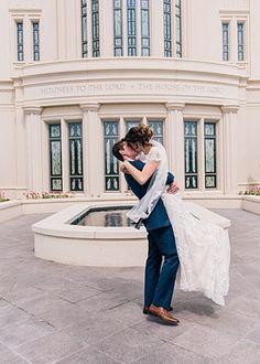 Bryan and Rachel's Wedding by Natalie Felt Photography | Kylee Ann Back up Photographer | Payson Temple Utah Wedding Photographer