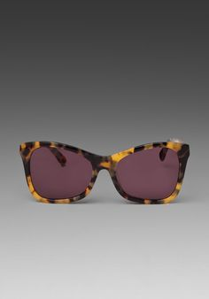 #RevolveClothing #KarenWalker Perfect Day in Crazy Tortoise/Gold/Black sunglasses