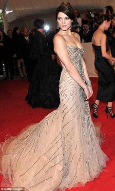 Ashley Greene in a Donna Karan Atelier gown at Metropolitan Museum of Art Costume Gala 2011