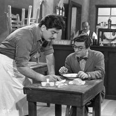 Μία ζωή την έχουμε 1958 Live Action, Cinema, Actors, Couple Photos, Stage, Photography, Furniture, Greece, Couple Shots