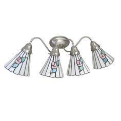 Epiphany Lighting 106034 BN-93426 Four Light Bath Wall Fixture in Brushed Nickel Finish | Quality Discount Lighting